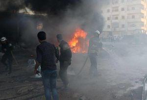 انفجار یک خودروی بمبگذاری شده در ادلب