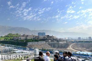 بازدید شهردار تهران از آخرین مراحل ساخت باغ کتاب تهران