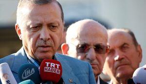 اردوغان: غرب بین ترکیه و تروریستها یکی را انتخاب کند