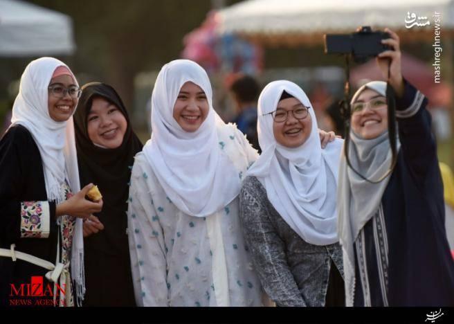 عید فطر در کشورهای مختلف جهان به روایت تصویر