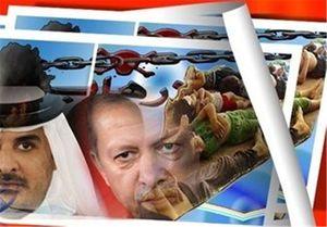 اردوغان به دنبال فروش بحران قطر به عربستان/ سفرهای دیپلماتیک ترکها به عربستان افزایش یافت