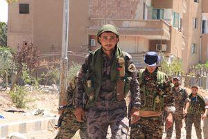 نیروهای دموکراتیک کرد در رقه