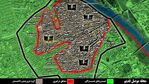 گزارشی از ۵ ماه عملیات در غرب شهر موصل؛ چه خسارتهایی به داعش وارد شده است؟ + نقشه میدانی و عکس