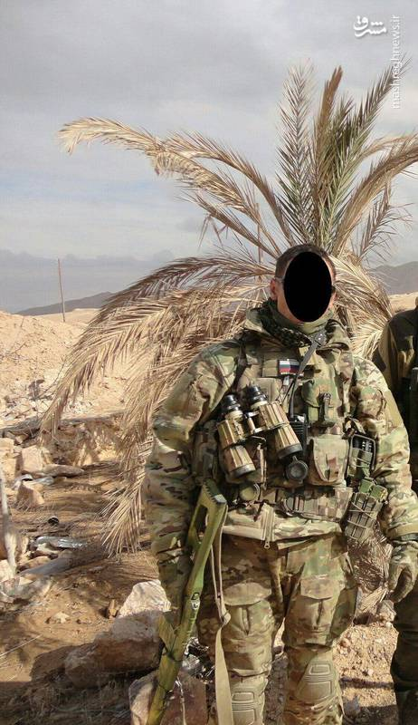 حضور نیروهای ویژه روسی در سوریه