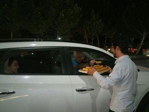 عکس/ خوشحالی مشهدیها به مناسبت آزادی موصل