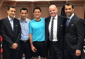 فغانی، منصوری و سخندان در لیست داوران جام جهانی 2018 +عکس