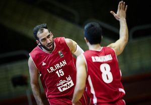 برنامه دیدارهای تیم ملی بسکتبال ایران در آسیا