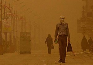 طوفان و ریزگرد ۱۰۰۰ سیستانی را راهی بیمارستان کرد