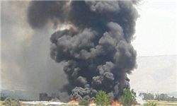 آتشسوزی گسترده در اردوگاه آوارگان سوری در لبنان