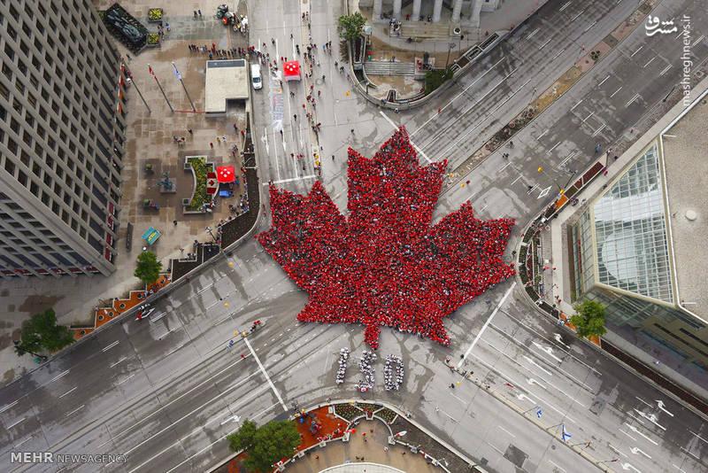 مراسم سالروز تاسیس کشور کانادا
