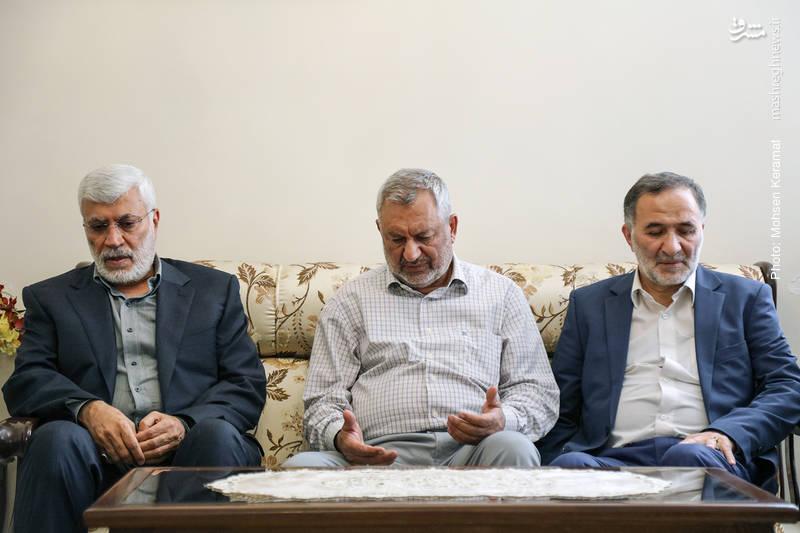 دیدار فرمانده کل حشدالشعبی عراق با خانواده شهید شعبان نصیری