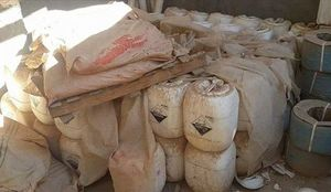 کشف دهها تن ماده شیمیایی از داعش در موصل