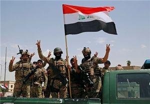 جشن پیروزی نیروهای ارتش عراق در بخش قدیمی موصل +عکس