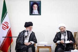 دیدار مسئولان دستگاه قضائی با رهبرانقلاب