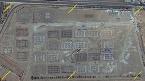 روند ساخت زائرشهر مشهد به روایت تصاویر ماهوارهای