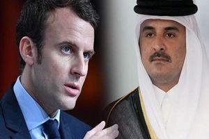 رایزنی تلفنی «ماکرون» و امیر قطر