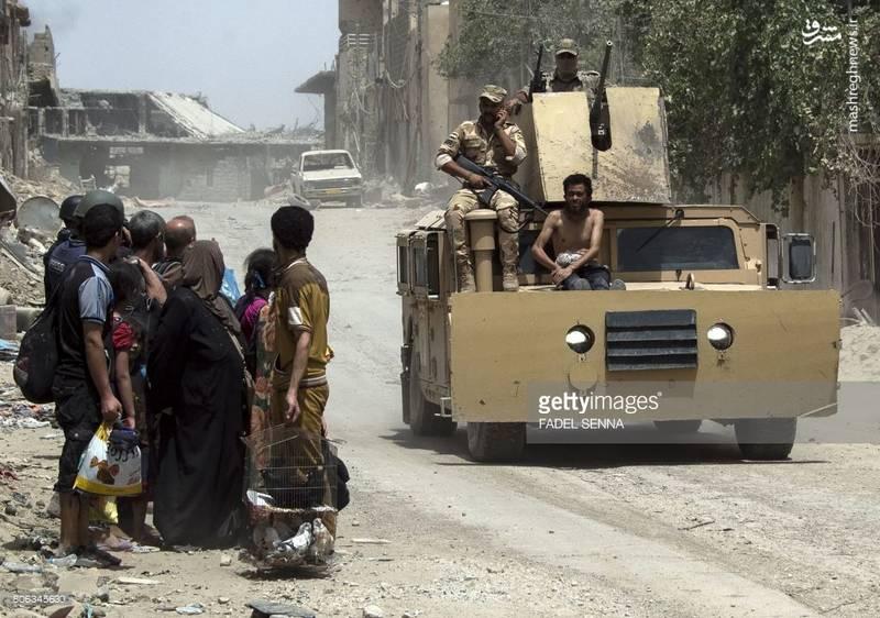 بازداشت یک داعشی در موصل