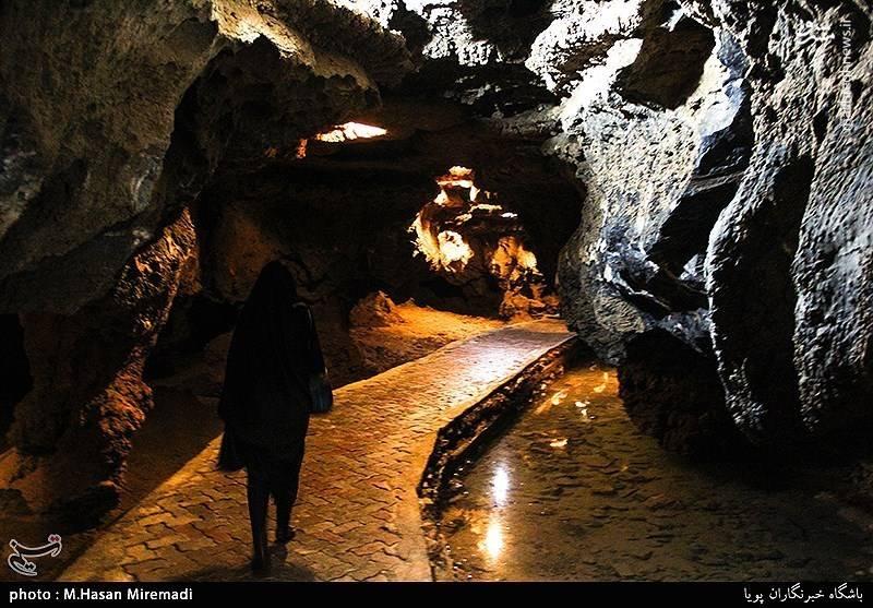 بزرگترین غار آبی جهان در ایران