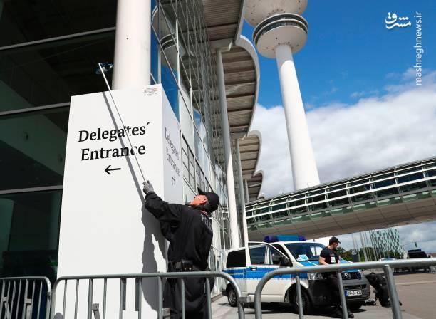 فضای امنیتی هامبورگ پیش از برگزاری نشست G20