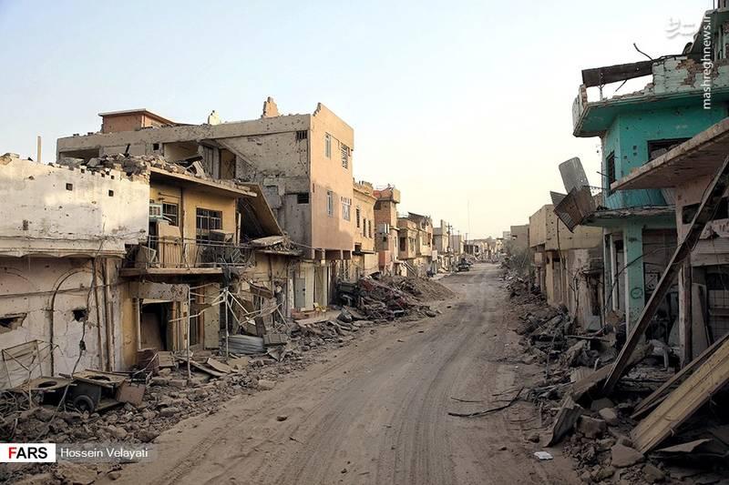 روایت عکاس ایرانی از موصل