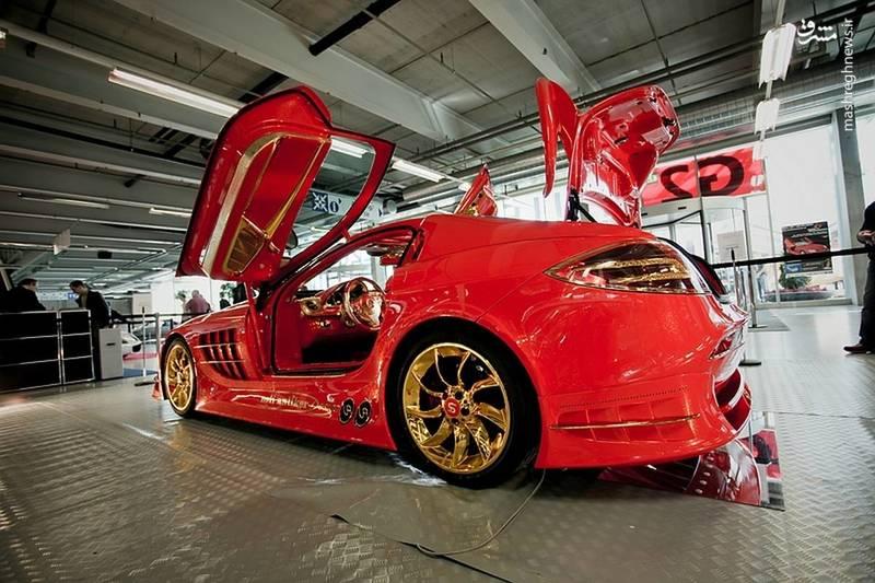 گرانقیمت ترین خودرو بنز جهان با قیمت عجیب به فروش رفت + عکس