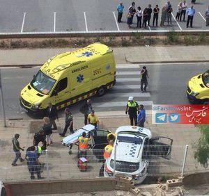 عکس/ تیراندازی به چند پلیس در اسپانیا