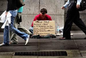 افزایش 39 درصدی بی خانمانهای نیویورک