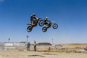 عکس/ مسابقات موتور کراس قهرمانی کشور