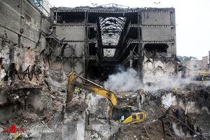 واکنش پلیس به ادعای کسبه پلاسکو