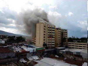 2کشته طی آتشسوزی در وزارت دارایی السالوادور
