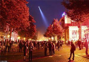 هامبورگ منطقه جنگی شد+عکس