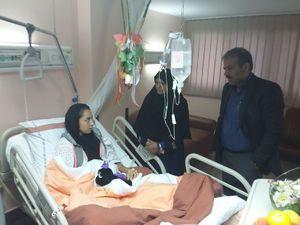 شرایط نامناسب کیمیا علیزاده در بیمارستان