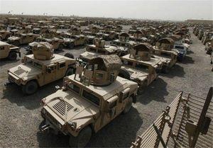 محموله خودروهای زرهی آمریکا در بندر «کراچی»