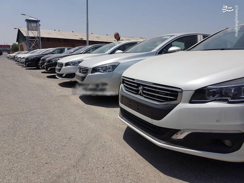 پژو٥٠٨ سري GT LINE در گمرك ایران/ عكس: نويدنادري
