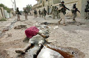 جنایت آمریکاییها در عراق