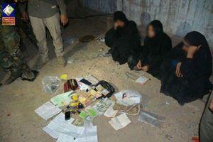 بازداشت شماری از زنان داعشی در موصل