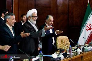 عکس/ دیدار دبیر کل سازمان اینترپل با دادستان کل کشور