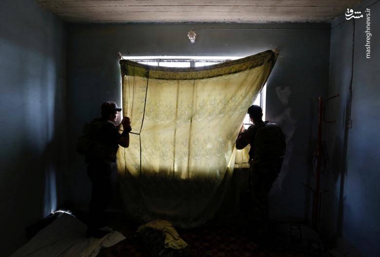 تصاویری از عملیات آزادسازی موصل