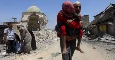 آوارگی-اهالی-موصل-به-دست-داعش-1.jpg
