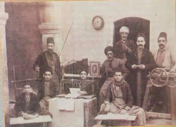 صحاف-ها-در-موصل-..-اوایل-جنگ-جهانی-اول.jpg