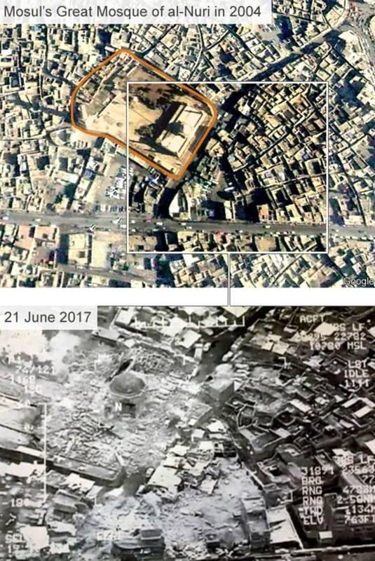 عکس-هوایی-از-ویرانه-های-برجای-مانده-پس-از-تخریب-مناره-الحدباء-مسجد-نوری-موصل-به-دست-داعش-3.jpg