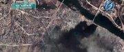 اولین فیلم ماهوارهای از نبرد آزادسازی موصل