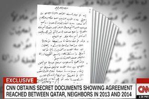 سیانان اسنادی درباره توافق قطر با کشورهای شورای همکاری منتشرکرد