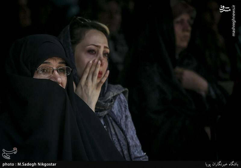 مراسم روز عفاف و حجاب در بازار تهران