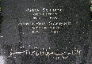 حدیث امام علی(ع) روی سنگ قبر اندیشمند زن آلمانی