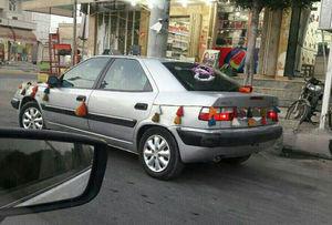 عکس/ ماشین عروس خاص در بوشهر
