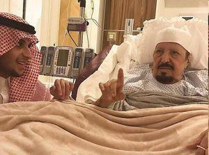 شاه سعودی به عزا نشست+ عکس