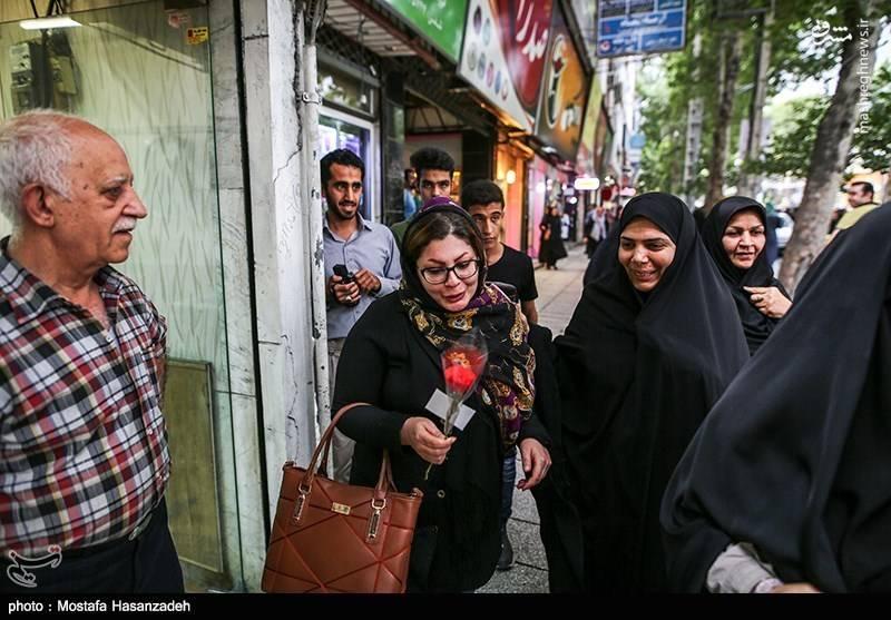 مراسم روز عفاف و حجاب در گرگان