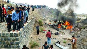 تریلر حامل بنزین در اصفهان واژگون شد