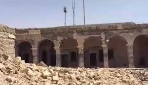 فیلم/ آرامگاه حضرت یونس(ع) پس از حمله داعش